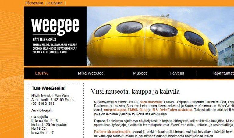 Näyttelykeskus WeeGee, Espoo