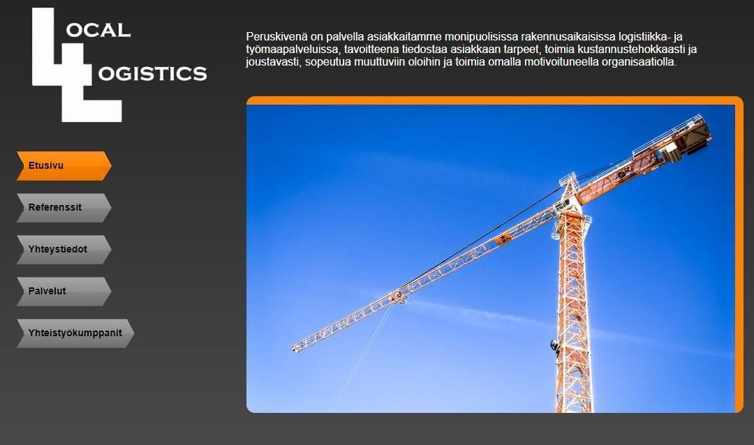 Local Logistics Oy:lle varausjärjestelmä tavaratoimitusten hallinnointiin